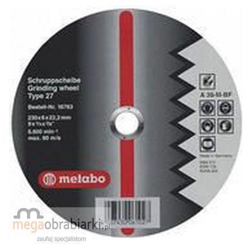 METABO Tarcza tnąca do aluminium 115 mm (25 szt) Flexiamant Super A 36-M wypukła RATY 0,5% NA CAŁY ASORTYMENT DZWOŃ 77 415 31 82 ze sklepu Megaobrabiarki - zaufaj specjalistom