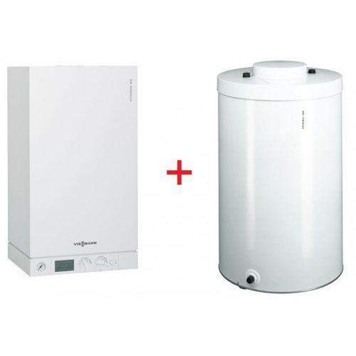 Viessmann VITODENS 100-W 35 kW + Vitocell 100-W (120 Litrów) - (Pakiet), towar z kategorii: Kotły gazowe