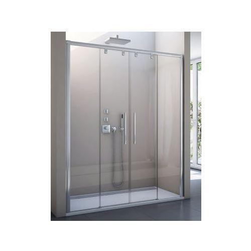 SANSWISS PURLIGHT S drzwi rozsuwane czteroczęściowe 1400 PLS41405007 (drzwi prysznicowe)