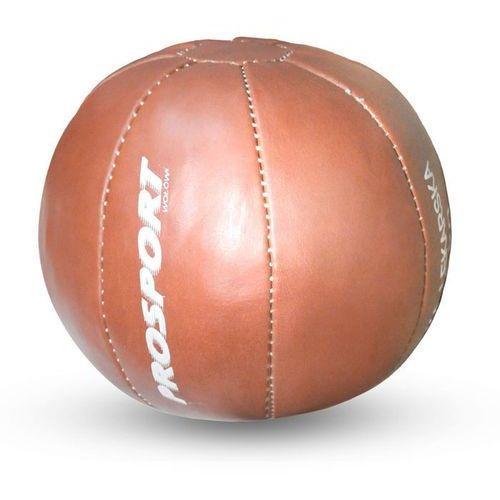 Piłka rehabilitacyjna skóra syntetyczna POROFLEX brązowa, produkt marki * producent niezdefiniowany