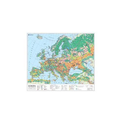 Produkt Europa. Mapa ścienna Europy, gospodarcza, marki Nowa Era