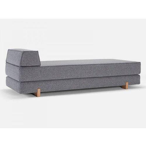 Sofa iDouble szara 565 nogi dąb lakierowany  745058002565-745057-5, INNOVATION iStyle