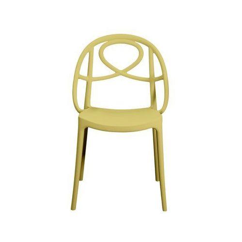 Krzesło ogrodowe Green Etoile żółte ze sklepu All4home