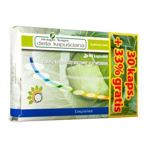 Dieta kapuściana w tabletkach magic / dostawa w 12h / negocjuj cenę / dostawa w 12h wyprodukowany przez A-z medica