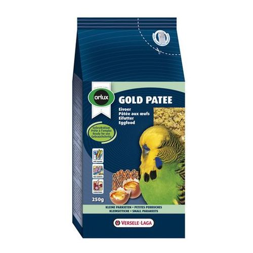 VERSELLE LAGA - ORLUX - GOLD PATEE SMALL PARAKEETS 250G, Orlux