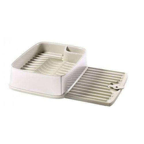 Suszarka do naczyń Curver DECO, kremowo-srebrny - produkt z kategorii- suszarki do naczyń
