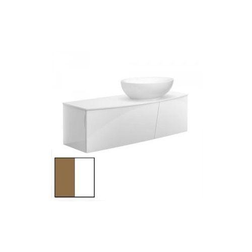 Villeroy & Boch Aveo New Generation 131,6x40x51 cm Glossy White/Pure Oak A844GFGG - produkt z kategorii- rega�