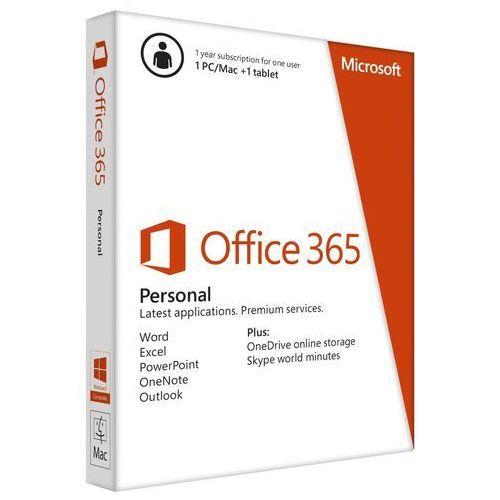 Microsoft Office 365 Personal Licencja Roczna 1 Stanowisko (QQ2-00075) z kategorii Programy biurowe i narzędziowe