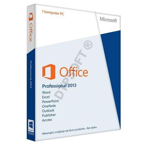 Microsoft Office Professional 2013 32-bit/x64 PL ESD (AAA-02784) z kategorii Programy biurowe i narzędziowe