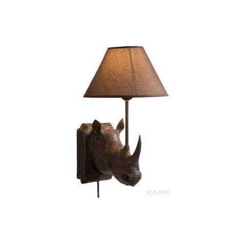Modern Vintage Rhino Lampa Ścienna 39x26 cm (31371), produkt marki Kare Design