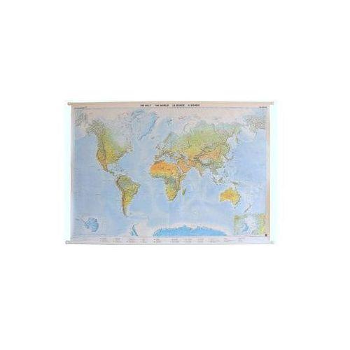 Świat mapa ścienna fizyczna 1:25 000 000  & Berndt, produkt marki Freytag