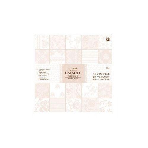 Oferta Zestaw papierów Papermania CAPSULE OYSTER BLUSH 15x15cm 32 kartki