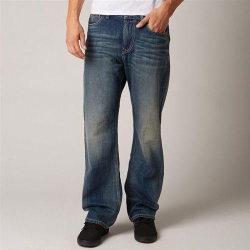 spodnie FOX - Duster Jean Faded (312) rozmiar: 33/32 - produkt z kategorii- spodnie męskie