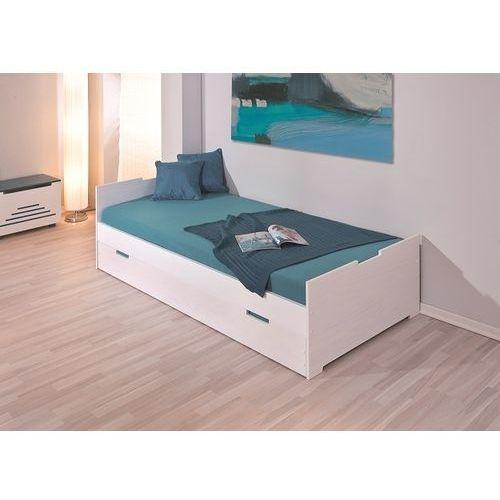 Łóżko Camilla biały/turkusowy ze sklepu FUTURI Nowoczesne Meble