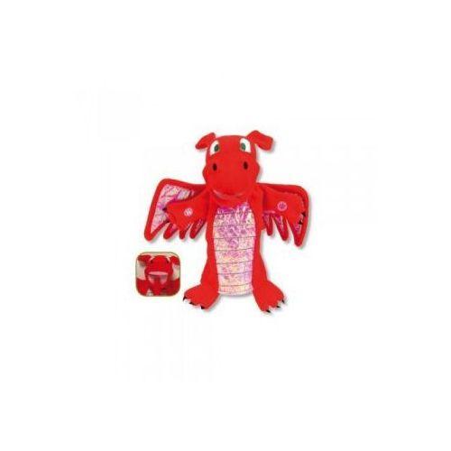 Czerwony smok - pacynka na rękę (pacynka, kukiełka)