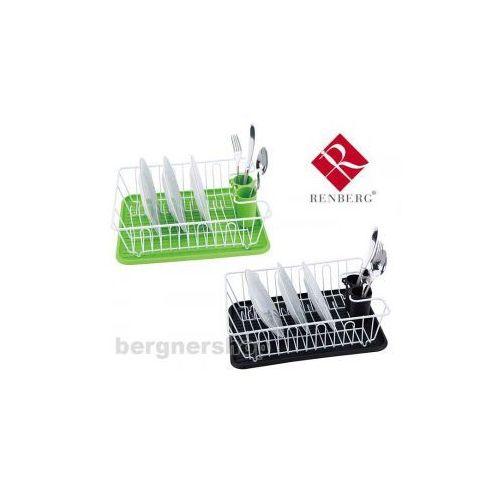 Produkt z kategorii- suszarki do naczyń - SUSZARKA DO NACZYŃ Z OCIEKACZEM RENBERG RB-4322