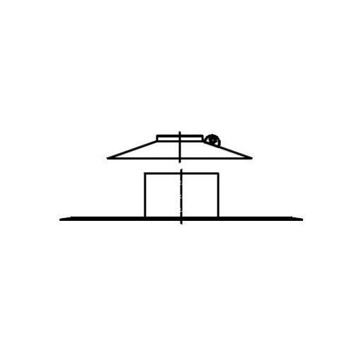 Oferta Termet Płyta dachowa + kołnierz przeciwdeszczowy Ø125 z kat.: ogrzewanie