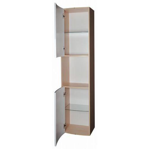 RAVAK słupek boczny SB 410 Rosa biały+biały X000000338 - produkt z kategorii- regały łazienkowe
