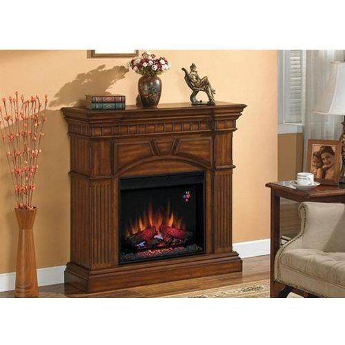 82839523 Kominek elektryczny z obudową Classic Flame Raleigh (kolor: orzech) - oferta [b521e302515213fa]