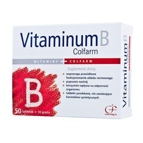 Vitaminum B Colfarm x 50 tabl + 10 tabl, postać leku: tabletki