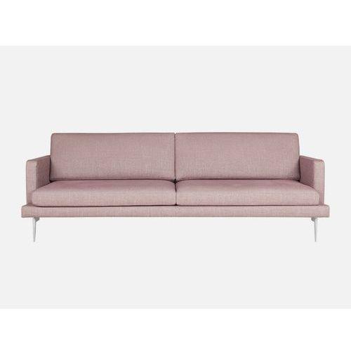 Sofa Ludvig 3 seater FLOSSY 9 aubergine tkanina różowa  E1568-0400-2S-FLOSSY9-139, Sits
