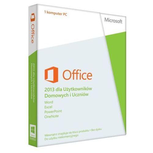 Microsoft Office Home and Students 2013 32-bit/x64 Polish z kategorii Programy biurowe i narzędziowe