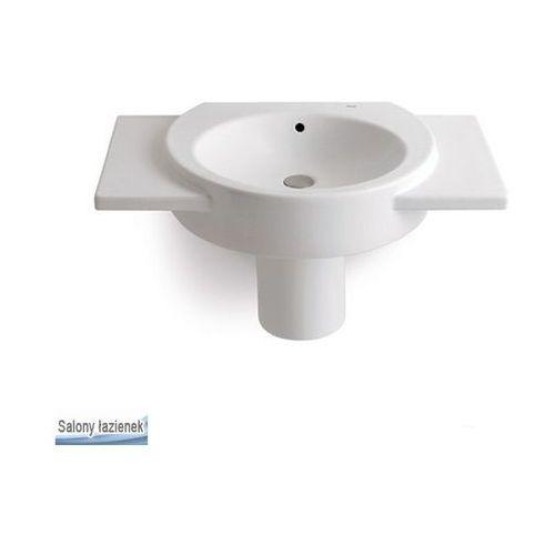 Produkt z kategorii- pozostałe artykuły hydrauliczne - Umywalka ścienna 70 Happening Roca (A32756400M)