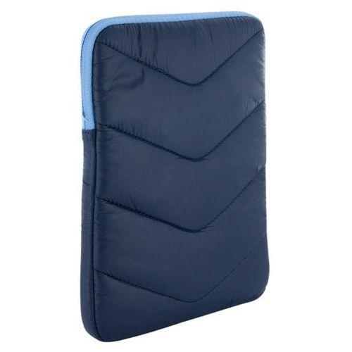 4World Etui z pluszem wertykalne do tabletu 10.1'' granatowo-błękitne, kup u jednego z partnerów