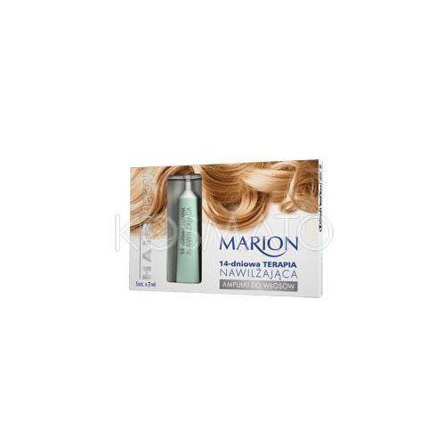 Produkt z kategorii- pozostałe kosmetyki do włosów - Marion Hair Therapy 14-dniowa Terapia Nawilżająca, 5 x 7 ml