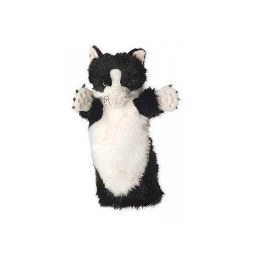 Kot czarno-biały - pacynka długi rękaw (pacynka, kukiełka)