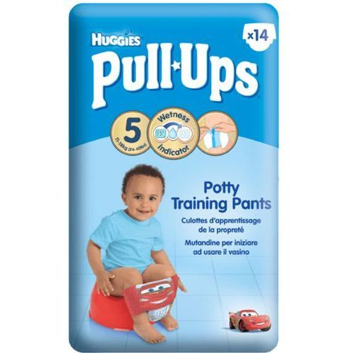 HUGGIES PULL-UPS rozmiar 5 (11-18kg) pieluchomajtki treningowe dla chłopców, kup u jednego z partnerów