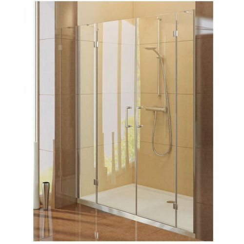 New Trendy - Drzwi prysznicowe podwójne z podwójną ścianką RENOMA (drzwi prysznicowe)