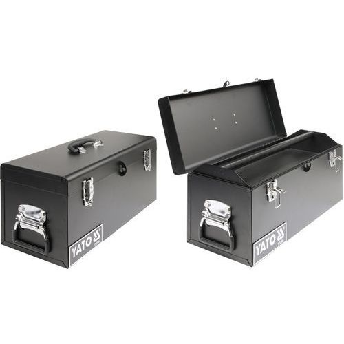 Towar Skrzynka narzędziowa, metalowa 510x220x240 mm YT-0886 z kategorii skrzynki i walizki narzędziowe