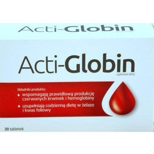 ACTI-GLOBIN 30 tabletek, postać leku: tabletki