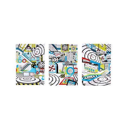 MATTEL BOOMco Akcesoria - Zestaw tarcz samoprzylepnych Deluxe, róźnewzory, produkt marki Mattel