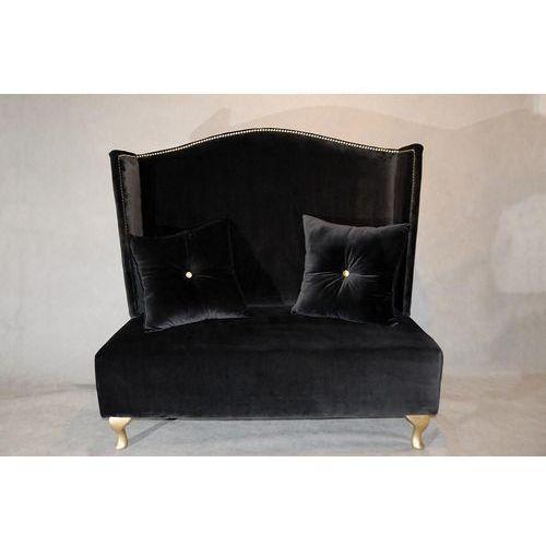 Sofka Pompadur Black, Kolekcja Happy Barok