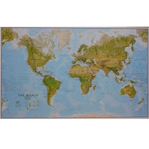 Świat mapa fizyczna 1:20 000 000, produkt marki Global Map