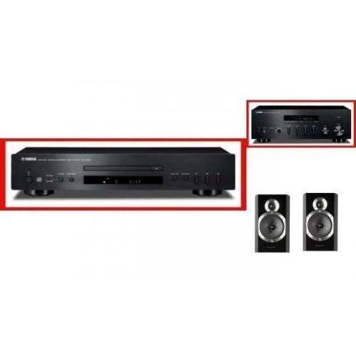 YAMAHA R-S500 + CD-S300 + WHARFEDALE 10.0 - Tanie Raty za 1%
