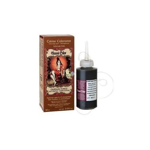 Cosmetics Natural Colour Cream - Henna w płynie Chatain Fonce/ Średni Szatyn 90ml - szczegóły w Pachnidełko
