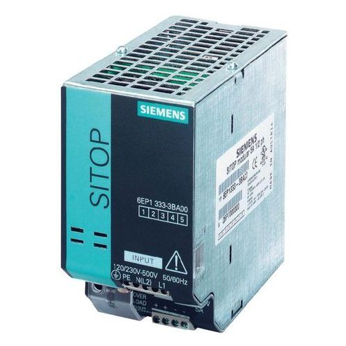 Artykuł Zasilacz na szynę Siemens 6EP1333-3BA00, 24 V, 5 A z kategorii transformatory
