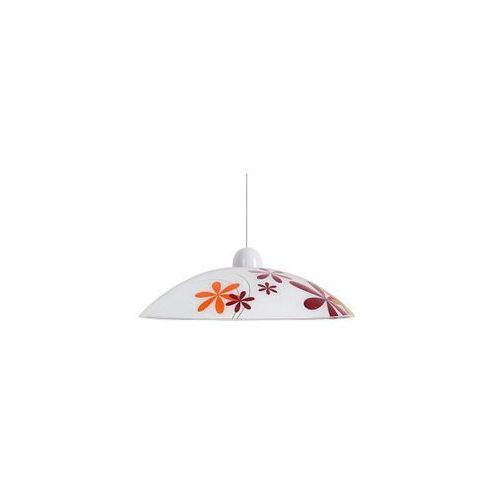 Artykuł Nowoczesna LAMPA wisząca OPRAWA kuchenna IRIS Rabalux 1800 IP20 biały multikolor z kategorii lampy wiszące