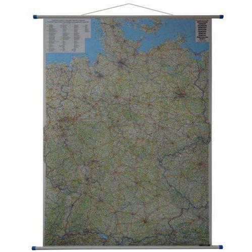Niemcy. Mapa ścienna drogowa 1:700 000 wyd. Freytag & Berndt, produkt marki Freytag&Berndt