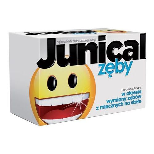 [tabletki] Junical zęby - tabletki do ssania, 30 sztuk /*Darmowa dostawa od 250 zł!*