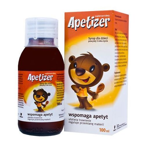 Apetizer syrop dla dzieci 100 ml, postać leku: syrop
