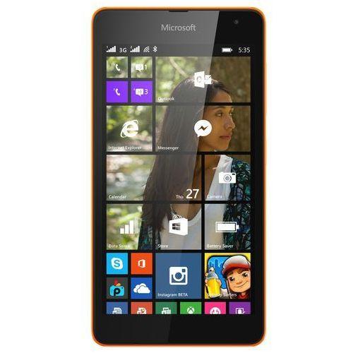 Microsoft Lumia 535 Dual SIM (pomarańczowy) - pomarańczowy - produkt z kategorii- Pozostałe oprogramowanie