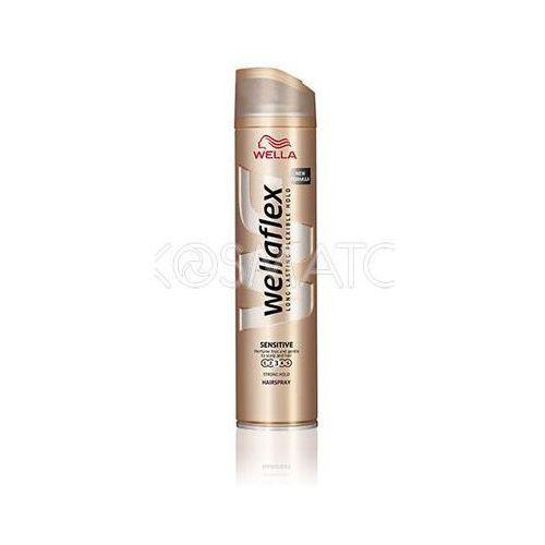 Produkt z kategorii- pozostałe kosmetyki do włosów - Wellaflex Sensitive Lakier, 250 ml