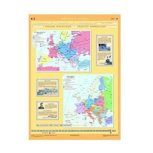 I wojna Światowa. Traktat wersalski / Rzeczpospolita Polska 1918-1939. Mapa ścienna Polski, produkt marki Nowa Era