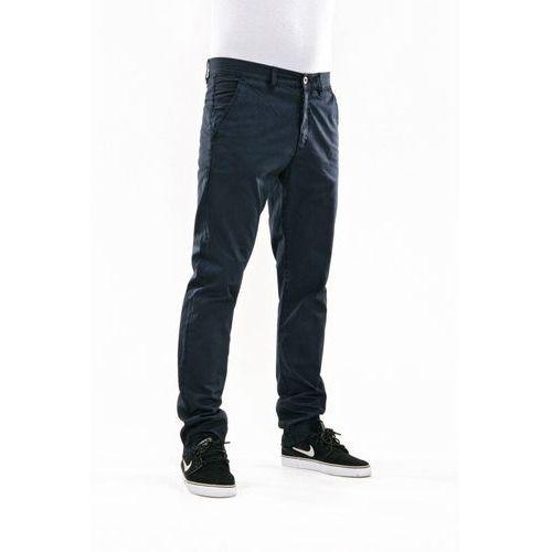 spodnie REELL - Grip Tapered Chino Navy Blue (NAVY BLUE) rozmiar: 36/32 - produkt z kategorii- spodnie męskie