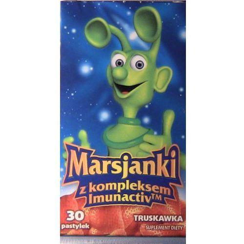 [pastylki] Marsjanki z kompleksem Imunactiv o smaku truskawkowym x 30