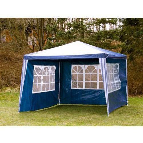 PAWILON OGRODOWY 3x3 4 ŚCIANY NAMIOT HANDLOWY - Niebieski - produkt z kategorii- namioty ogrodowe
